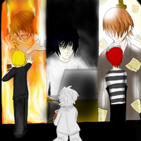 DEATH NOTE The Successors by deathdesu