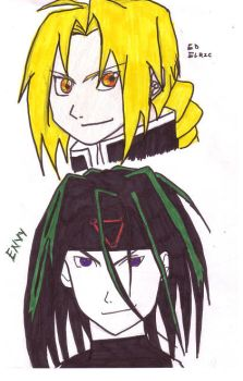 ed and envy by artISbeauty13