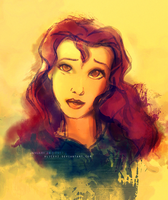 Belle doodle by alicexz