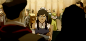 Korra : Jealous of Masami by GiffenDN