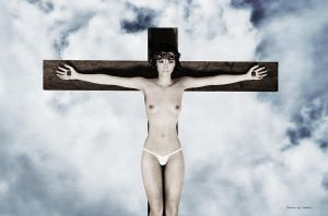 The cross of the sky900 by passionofagoddess