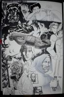 Star Wars Art Jam by joewight