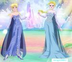 Anna and Elsa,Sisters of Snow. by Astrogirl500