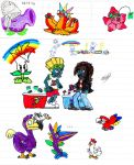 Pvz Fan art characters,costumes etc! by Fede by Fede-comics-Fedextre