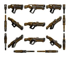 Mass Effect 3, Graal Spike Thrower Reference. by Troodon80