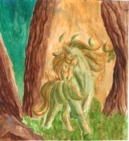 Forest spirit by TheMetasepia