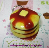 Pancake with Syrup Charm by pinknikki