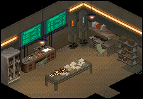 Military Research Room v2 by lenstu82