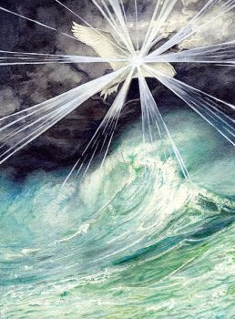 Elwing Bearing the Silmaril by peet