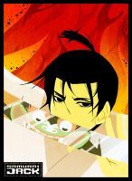 + Samurai Jack goes bishie XD+ by goku-no-baka