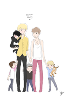 The EXO-M Family by tangerine-skye