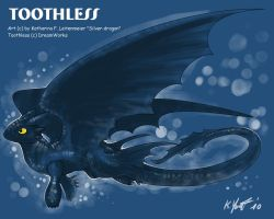 Toothless again xD by SilverdragonKathy