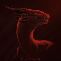 Kromagon portrait by Ikleyvey