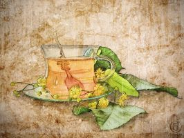 Tea and Leaves by rjDezigns