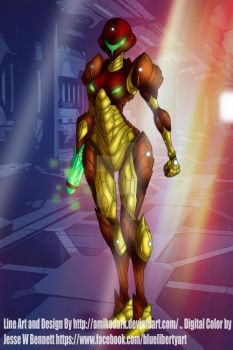 Varia Suit Redesign Color work Collaboration by blueliberty