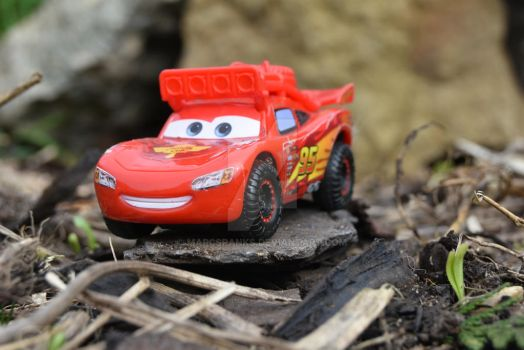 Lightening Mcqueen toy by MarcSpanks
