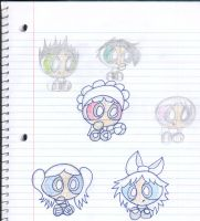 PowerPuff Babies.. by SharpieSam