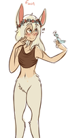faun adoptable [SOLD] by krys-adopts