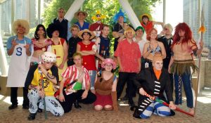 A-kon 20 One Piece Group by Leaviel
