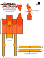 134###Flame Princess by HORZZZA