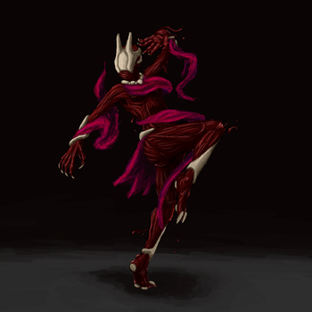 Phyrexian Dancer by Nighzmarquls