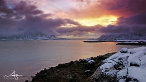 Scandinavian Sunrise by Stridsberg