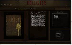 Hollister Myspace Layout by ThaMex4lif3