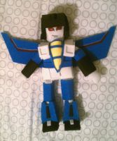 Thundercracker Doll by Fire-Redhead