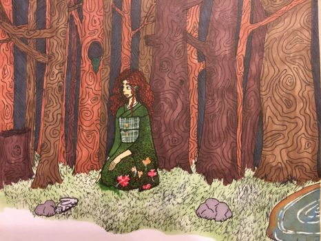 Forest Girl by Ispell2