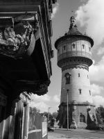 Water tower by KruzFX