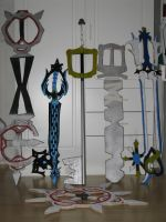 All Keyblades by killero94
