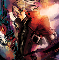 Blazblue -Ragna Sketch- by lightning-seal
