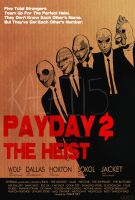 Payday 2: The Heist by Horsecanada9