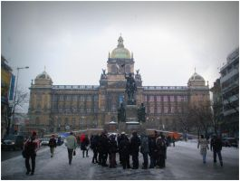 Wenceslas Square, Prague (Vaclavske namesti) by SeiMissTake