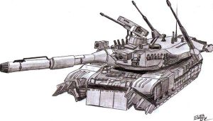 Tank by warbound