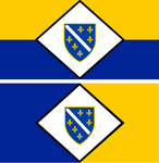 Bosnia-Herzegovina Republic flags for MAM by Darkspysrival