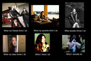 What I actually do... by DaughterRootless