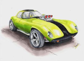 Chevrolet Cheetah V8 by vsdesign69