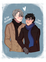 VICTUURI COMMISSION by URESHI-SAN
