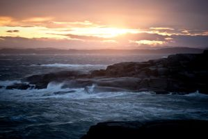 Storm at Worlds End by Sundseth
