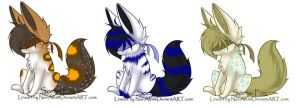 Blind Fennec Fox Adopt by Inner-Realm-Adopts