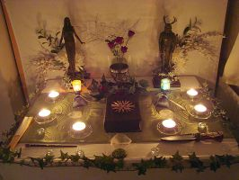 Pagan Altar 01 by Druidstone