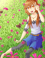 Field by TanukiQueen