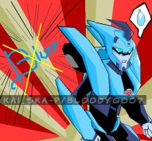 blurr transformers animated by Bloo-DKai12