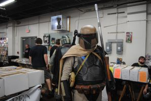 Bounty Hunting at The Great Allentown Comic Con by agentpalmer