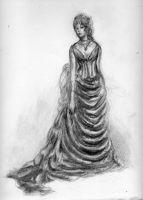 Victorian Lady by Zombieblue