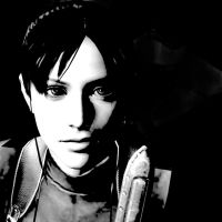 Claire Redfield Black and White by Kukla-Factory