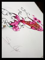 Lovely Koi Fish by FallingIntoPiecesxxx
