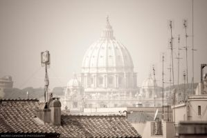 Roofs of Rome by michelecannone