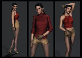 Ciara Nightingale - More of her new look by Torqual3D